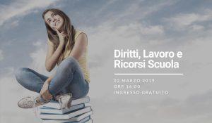 Concorsi e Ricorsi Scuola Incontro a Taranto Sabato 2 Marzo!